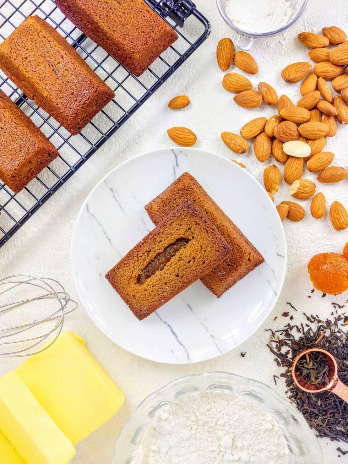 錫蘭金鑽費南雪 #法式手工點心 #甜點 #金鑽鳳梨 #錫蘭紅茶