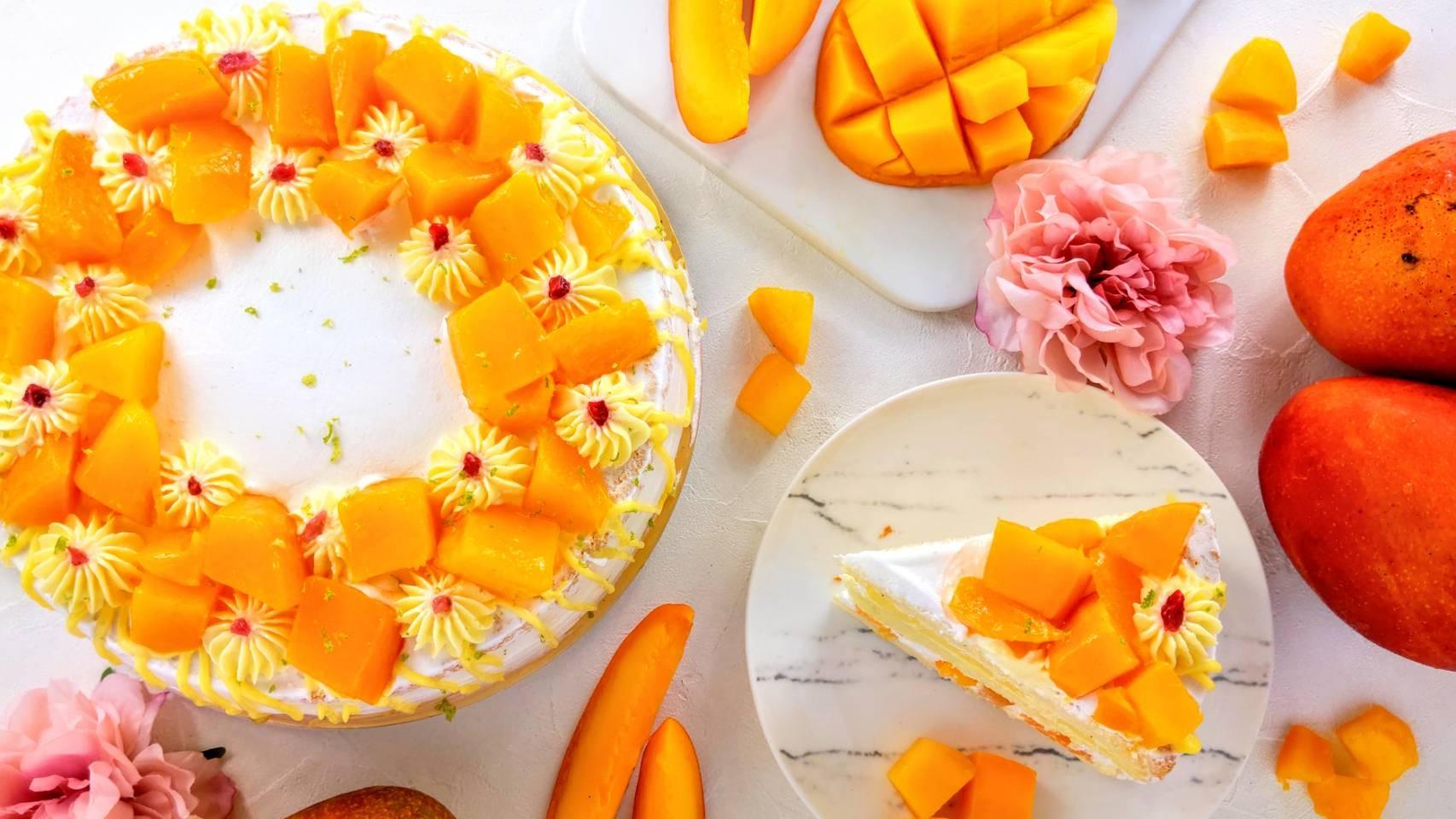 芒滿的愛  #新鮮芒果 #蛋奶素