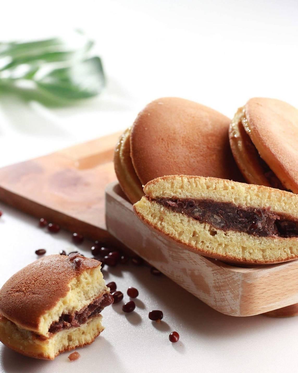 銅鑼燒-銅鑼燒/單包裝  #蛋奶素#萬丹紅豆#純龍眼蜜#日式手工製作