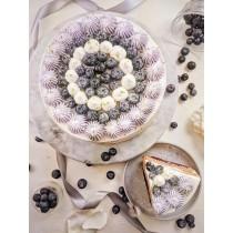 溫韌紫戀蛋糕 #8吋#蛋奶素 #母親節蛋糕#限店取未提供宅配
