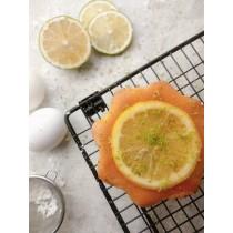 檸檬糖霜蛋糕/3.5吋  #蛋奶素#天然檸檬精油 #磅蛋糕#檸檬