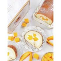 季節限定 芒果香緹生乳捲  #新鮮芒果 #蛋奶素#彌月禮盒