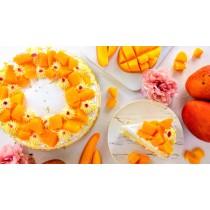 芒滿的愛 #8吋 #新鮮芒果 #蛋奶素