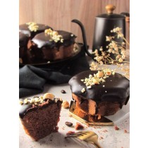 咖啡巧克力甘納許蛋糕/3.5吋 #蛋奶素 #咖啡 #巧克力 #四葉北海道十勝奶霜