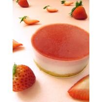 草莓覆盆子生乳酪(附淋醬)/3吋  #非素食#草莓#覆盆子#優格#