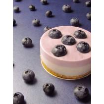藍莓生乳酪(附淋醬)/3吋  #非素食#藍莓#加拿大野莓#優格